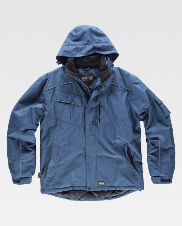 PARKA IMPERMEABLE ACOLCHADA WORKTEAM S1150