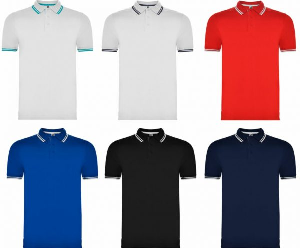 POLO HOMBRE BICOLOR ROLY MONTREAL