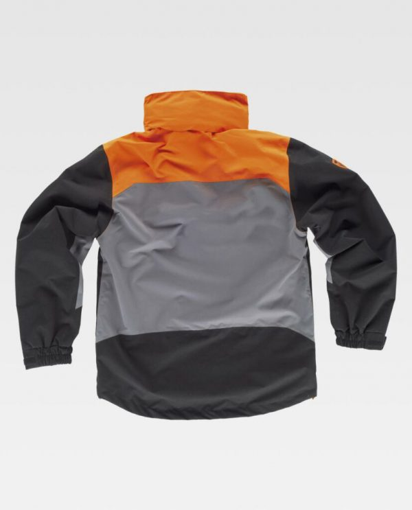 CHAQUETA IMPERMEABLE WORKTEAM S8225