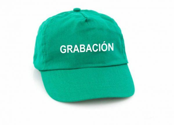 GORRA + 1 GRABACIÓN A 1 COLOR